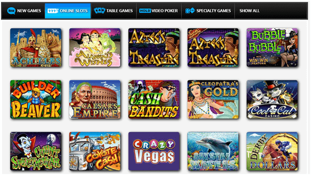 cool cat casino games