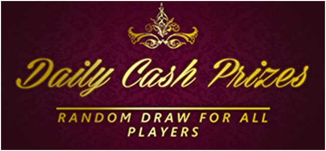 daily cash prizes at win a day casino