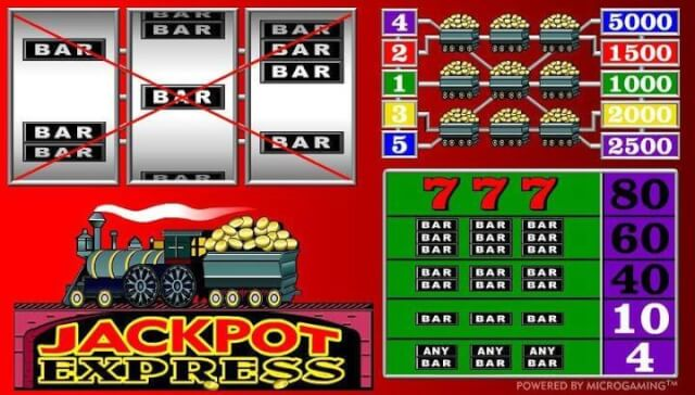 Jackpot Express game