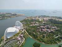Marina Bay Sands Skypark Singapore - Entrance Fee & Restaurant