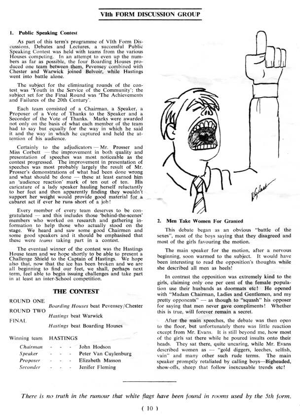 SJS Summit Magazine 1965