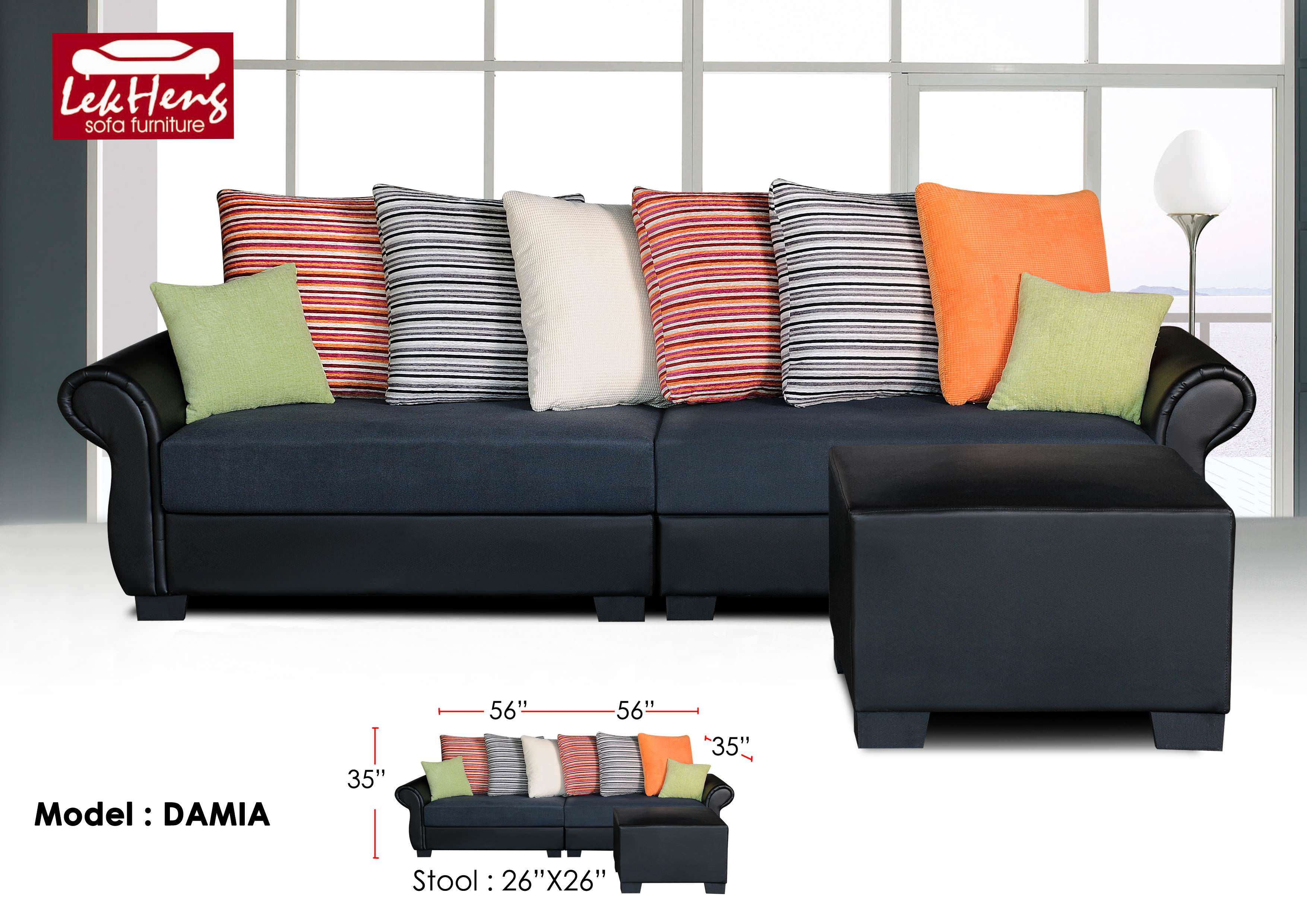 recliner sofa in malaysia 110 inch leather l shape singer