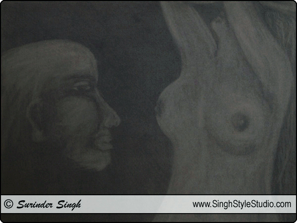 Fine Arts in Delhi India by Fine Artist Surinder Singh