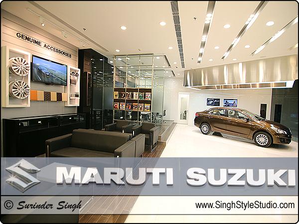 Location Photographer Delhi India Maruti Suzuki Showroom Dwarka New Delhi India