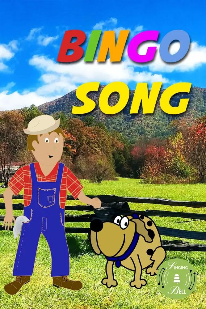 Bingo Song  Karaoke SingAlong Printable Score in PDF