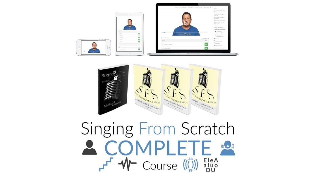 singing from scratch complete learn how to sing course product shot