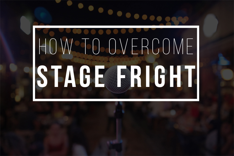 how to overcome stage fright image