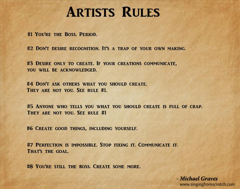 How To Be A Successful Artist