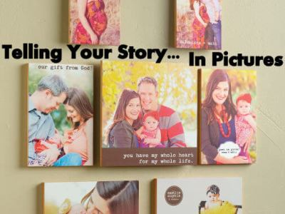 Telling Your Story – In Pictures (Giveaway)