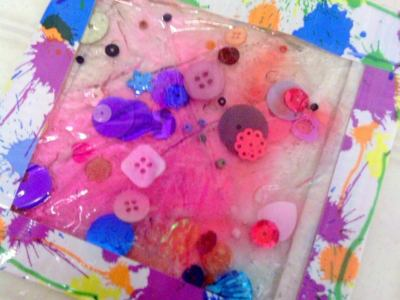 Homemade Sensory Gel Pad