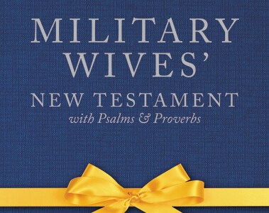Military Wife New Testament Giveaway