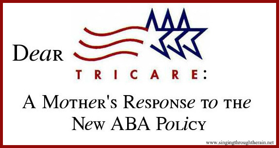 Dear Tricare: A Mother's Response to the New ABA Policy