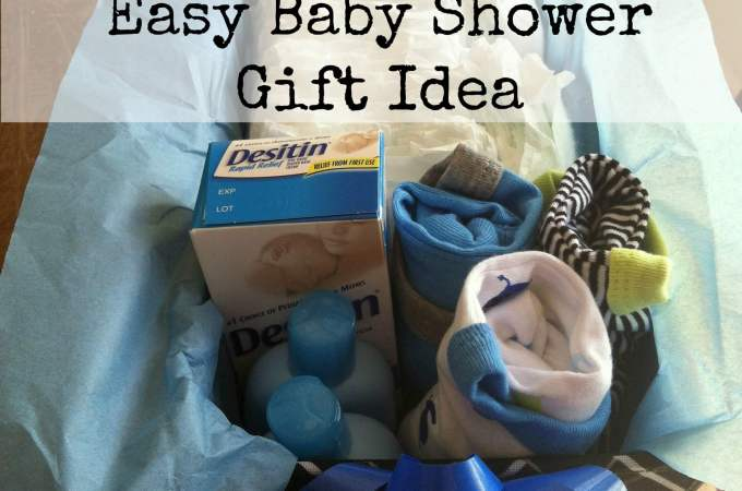 Easy Baby Shower Gift Idea