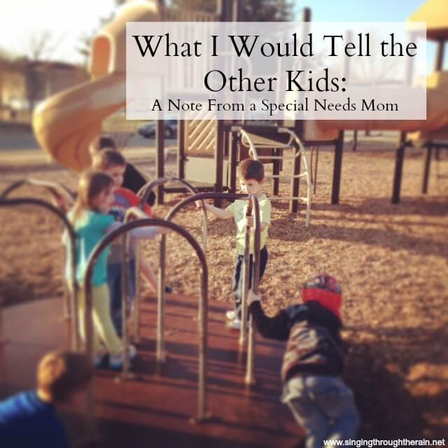 What I Would Tell the Other Kids