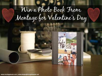 Win a Photo Book From Montage for Valentine's Day