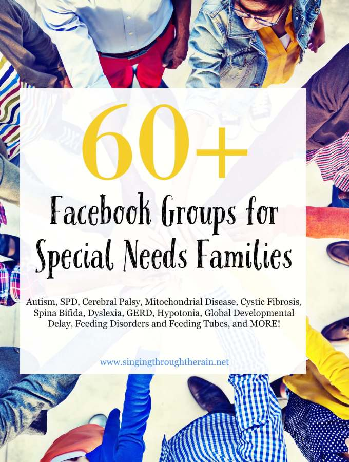 60+ Facebook Groups for Special Needs Families