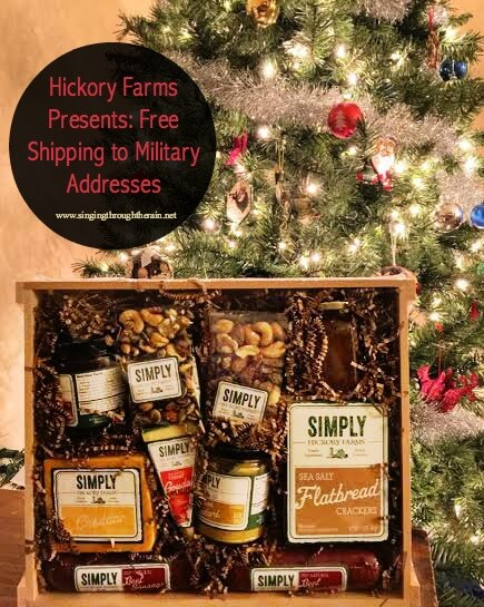 Hickory Farms Presents: Free Shipping to Military Addresses