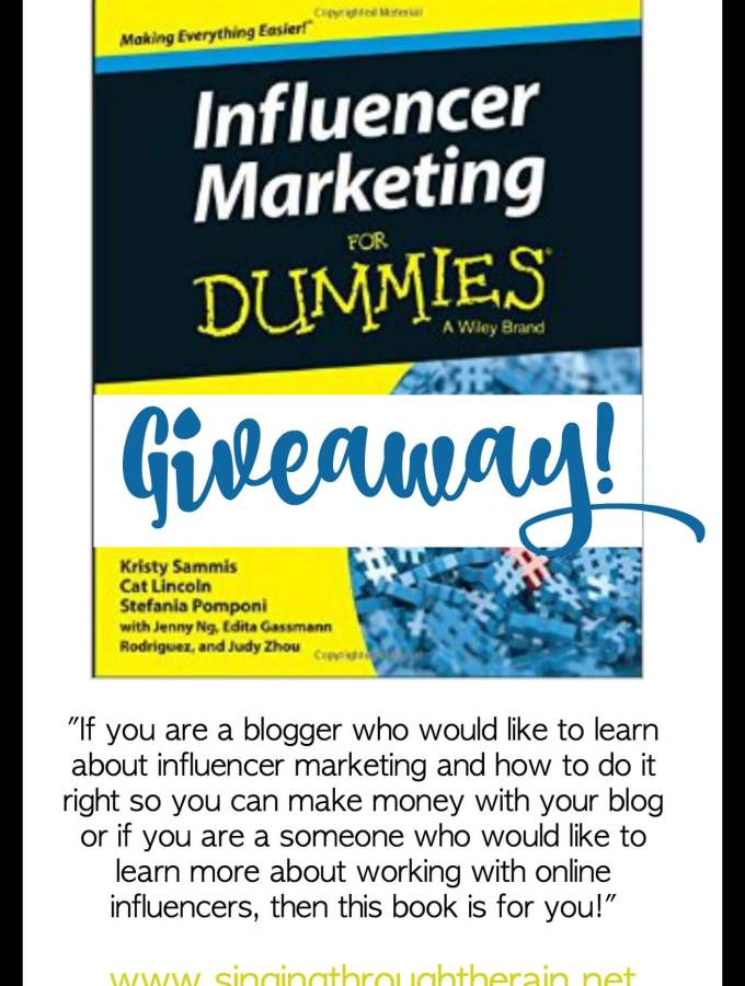 Influencer Marketing for Dummies + Giveaway