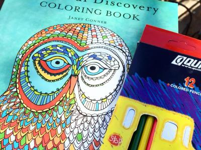 Soul Discovery Adult Coloring Book Giveaway
