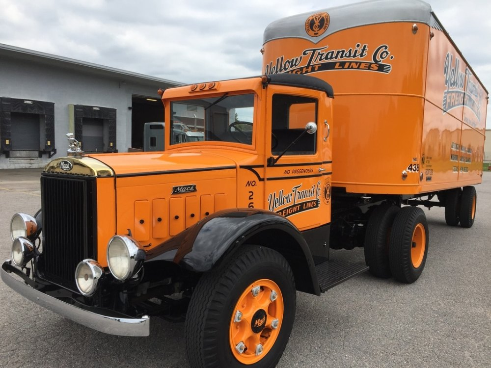 medium resolution of 1939 mack bm and 1937 fruehauf trailer in the collection of the keystone museum the keystone museum and keith jones acquired this restored truck and