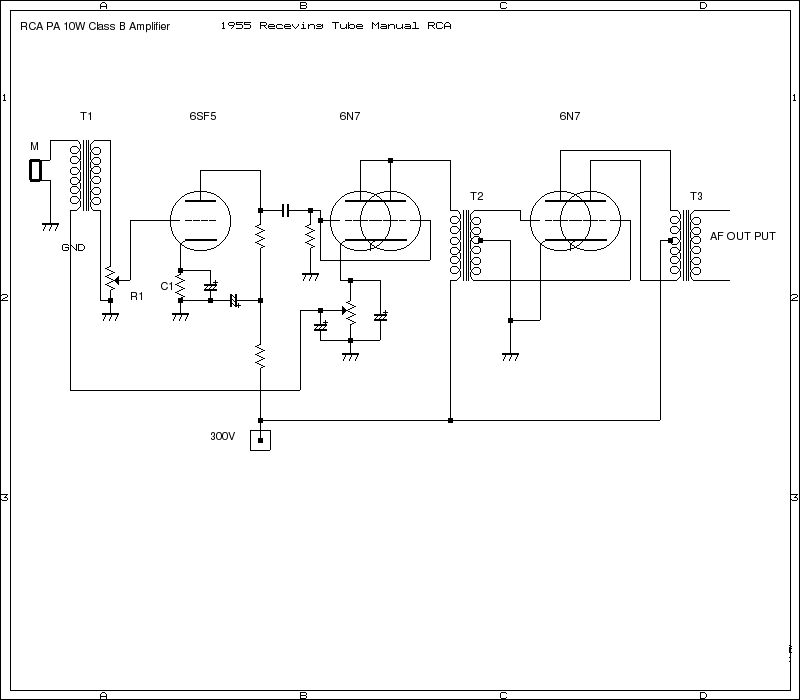 Shishido's Amplifiers Circuit