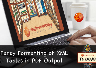 Fancy Formatting of XML Tables in PDF Output