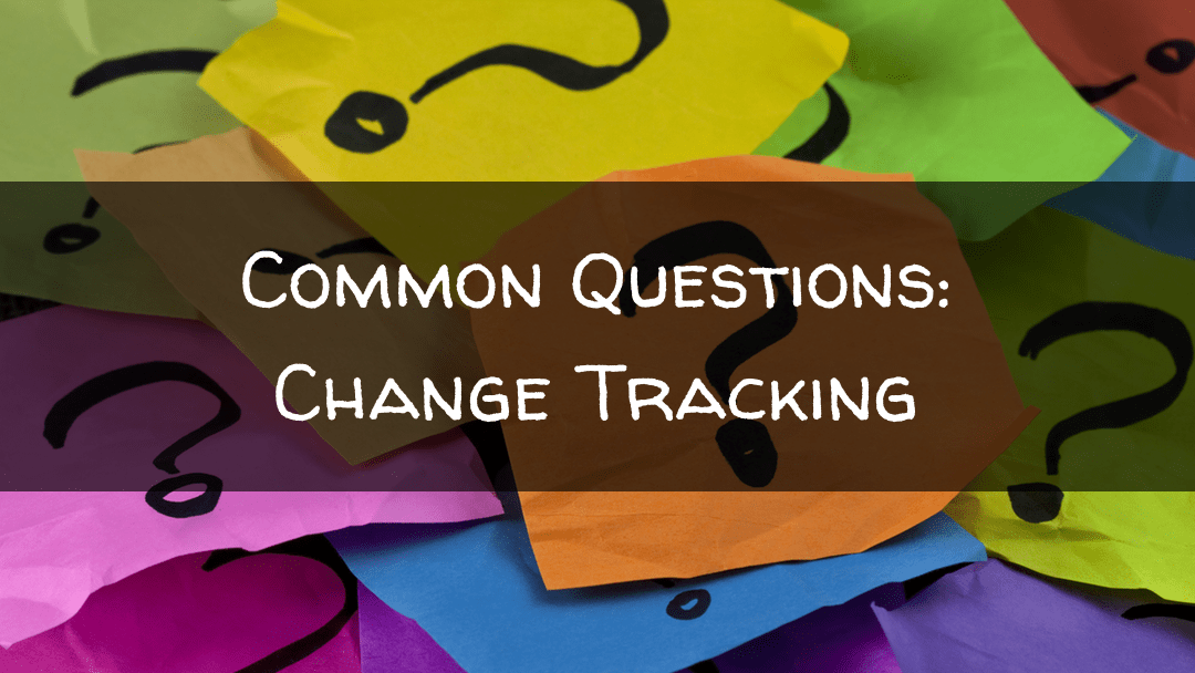 Common Questions: Change Markup
