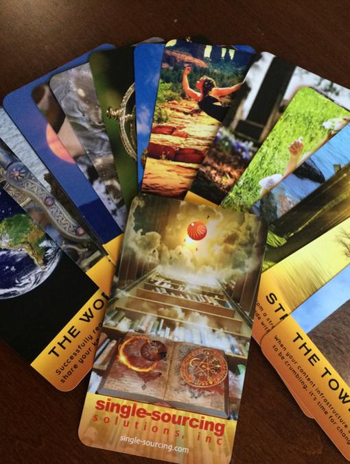 Techcomm Tarot card deck image