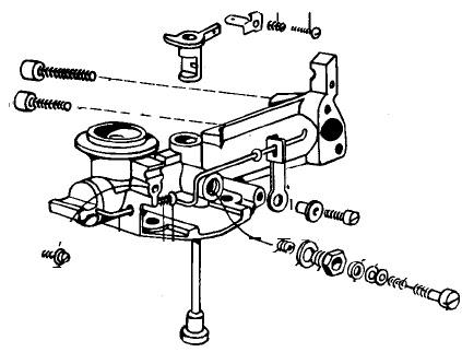 Carburetor Fuel Filter Fitting