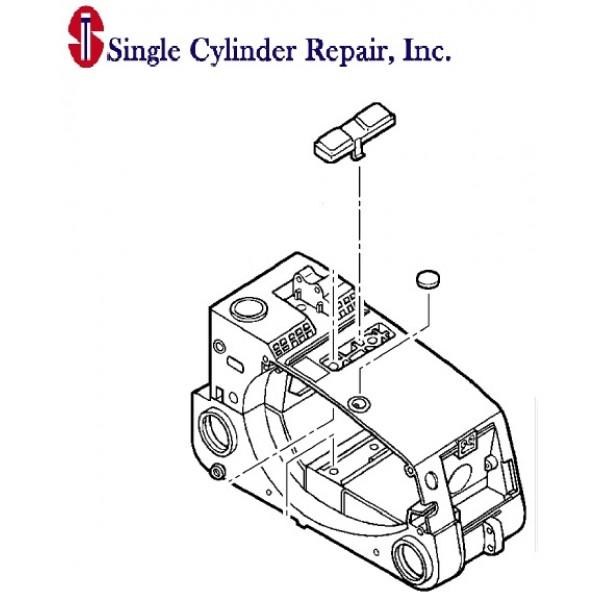 Echo Engine Cover/ Fuel Tank A190000640, A190000642 CS-306
