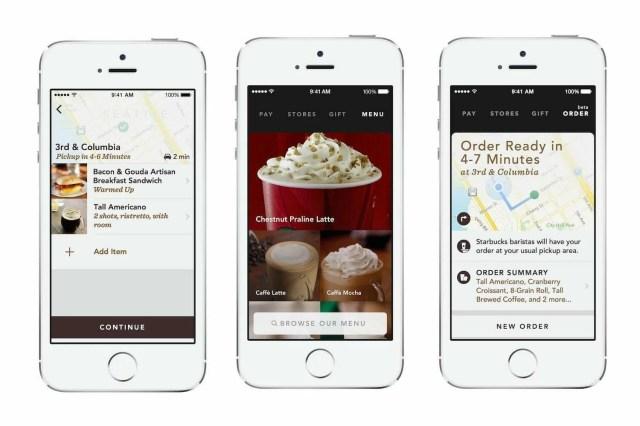 starbucks mobile order app