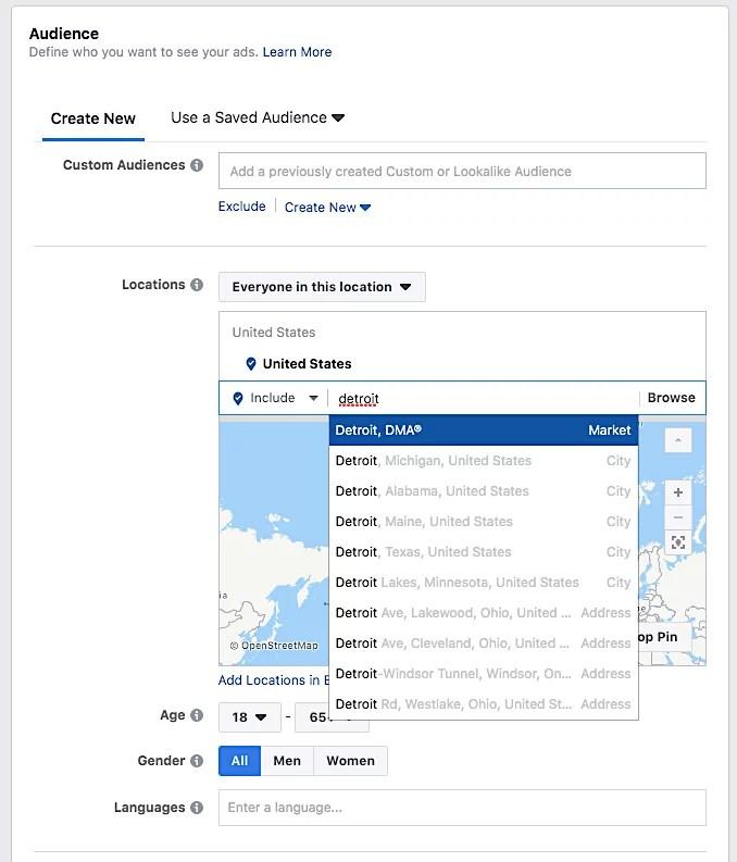 Facebook Ads article Location SG blog