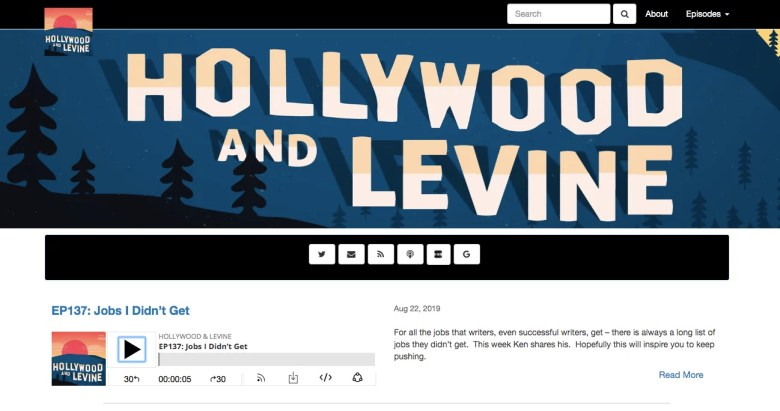 Hollywood e Levine