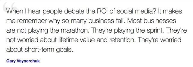 Gary Vaynerchuk on social media
