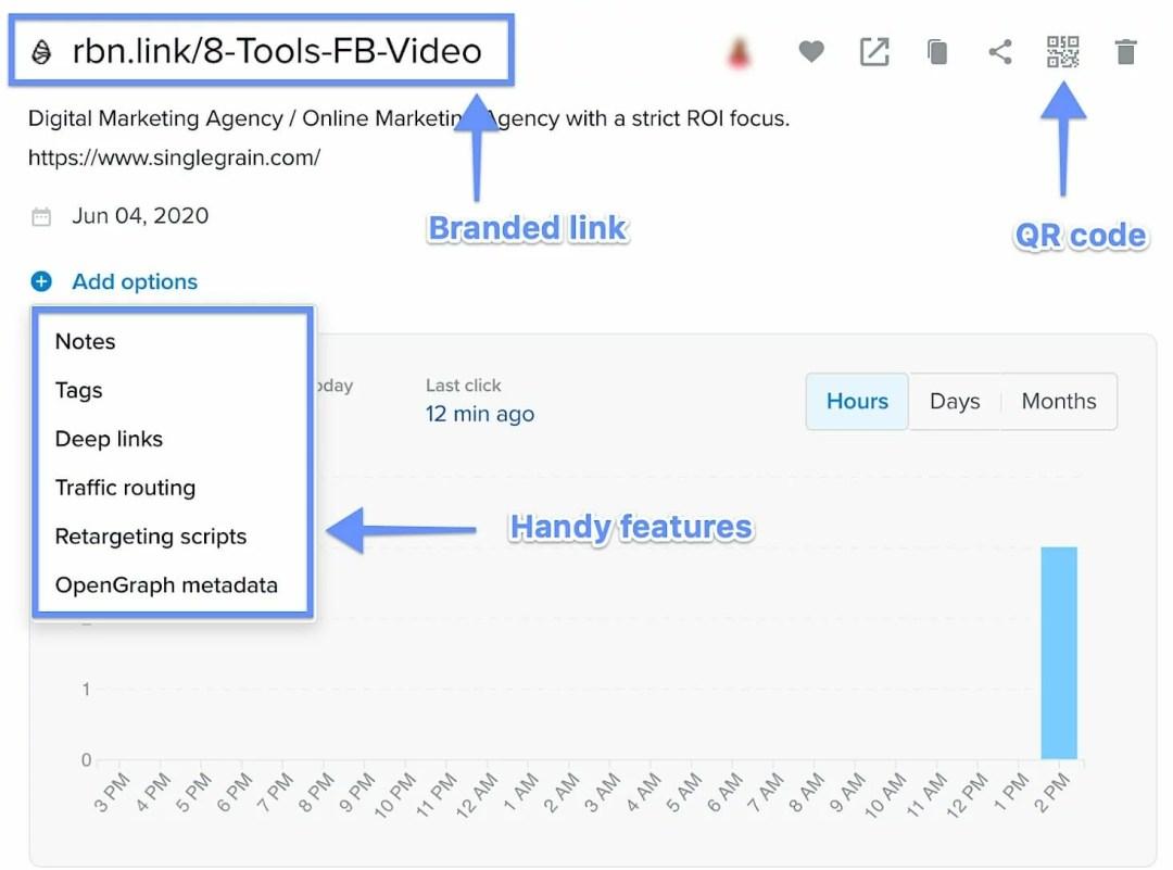 Rebrandly-link-shortening-and-pixel