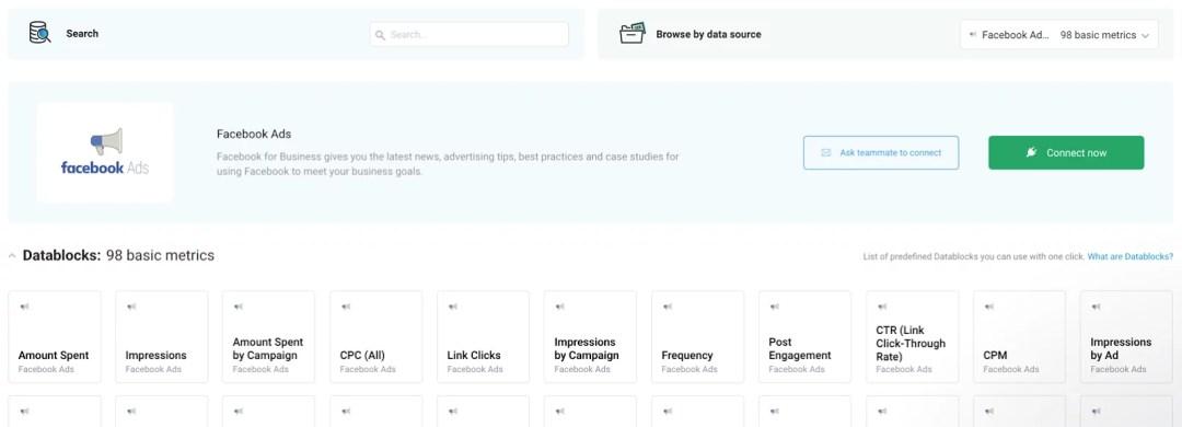 databox facebook ads metrics