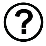 Question mark of single Paris questions