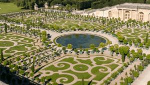 Paris date single women garden versailles