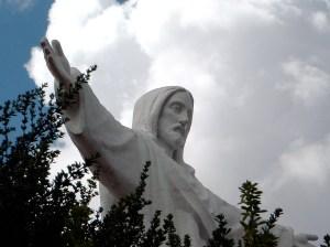 Jesus Statue Over Trees - Rio de Janeiro