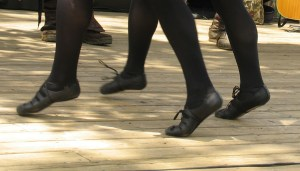 Irish Step Dancing Feet