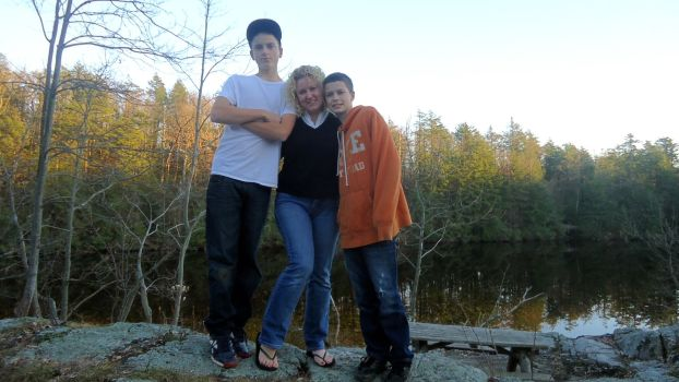 Troy, Me, and Matt