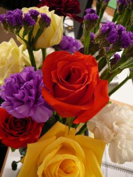 Thank you flowers from Single Mom Smiling