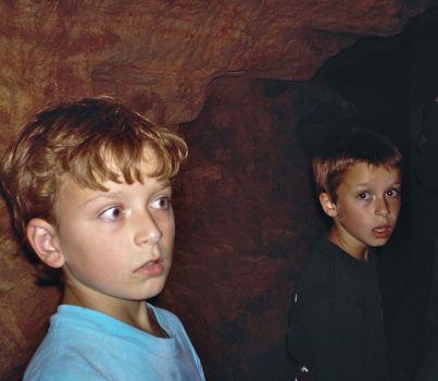 Troy & Matt - shocked faces