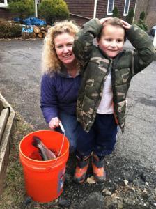 Fish Stocking Day with Kaleb