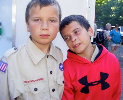 Boy Scout Camp - Noah & George