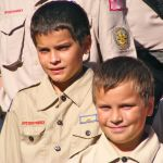 The Visit to Boy Scout Camp