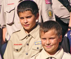 Boys Scouts - George and Noah