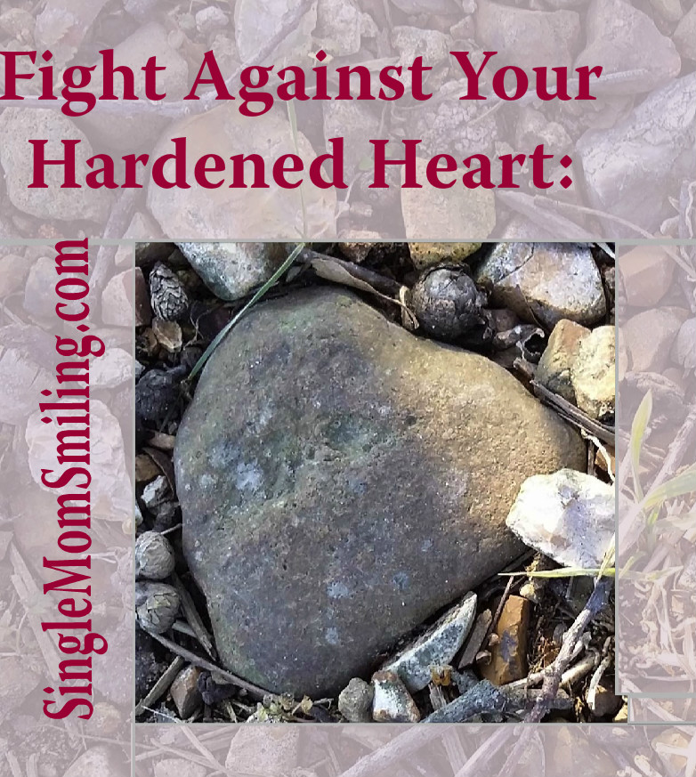 Divorce & the Hardness of Your Heart - Single Mom Smiling