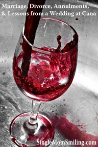 Marriage, Divorce, Annulment Wedding Cana - Wine Glass