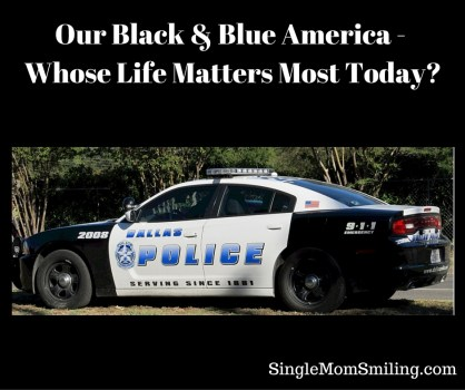 Black & Blue America - Life Matters - Dallas Police car
